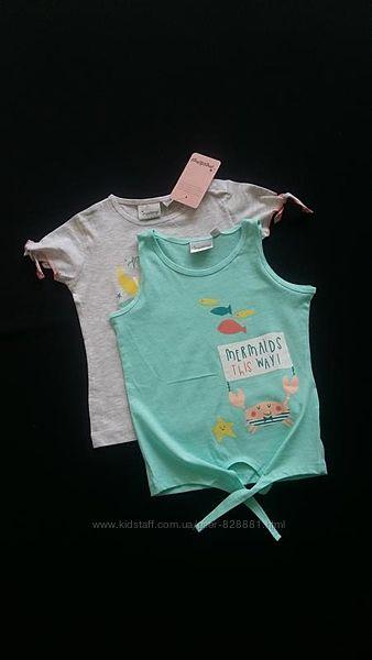 Комплект футболок Impidimpi, Германия, на 1,5-2 годика, размер 86-92