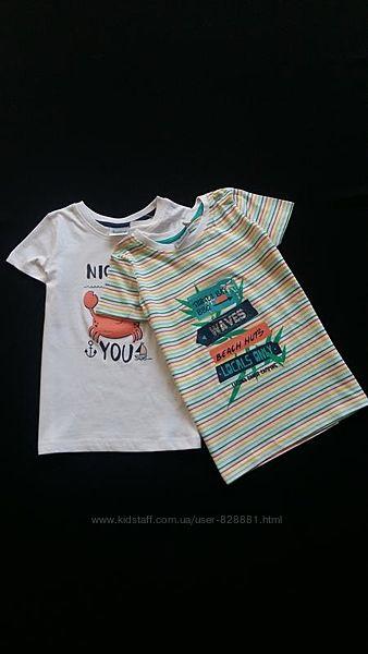 Комплект футболок Impidimpi, Германия, на 3-6 лет, размеры 98-116