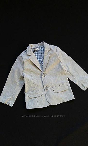 Легкий пиджак, жакет Street Gang, Италия, на 12-24 месяцев
