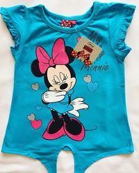 Фірмові футболочки Disney для хлопчиків і дівчаток. Польша.