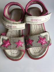 Літні сандалики Geox 26розміру з мигалками