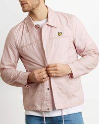 Новая мужская нейлоновая куртка-ветровка Lyle & Scott, размер XL