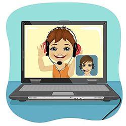Логопед онлайн через Skype, Viber.