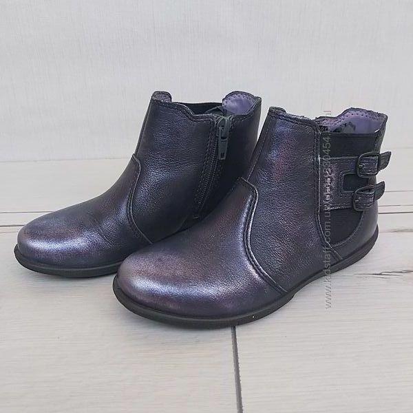 Демисезонные ботинки Ecco для девочки, размер 27