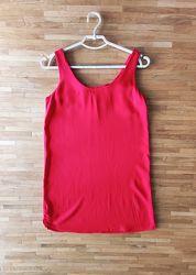 красное платье мини mango xs