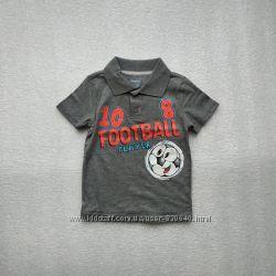 Поло, футболка с ярким рисунком Глория Джинс
