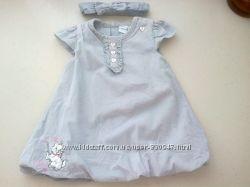 Платье на малышку 74р DISNEY. Состояние нового.