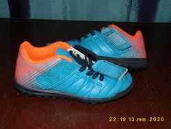 Спортивные детские кроссовки бутсы залки - Kipsta -   28 размерстелька-17