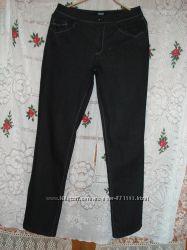 Супер джинсы черного цветаrosuerр. 38