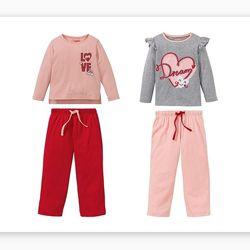 Милі піжамки для дівчинки на 86-92 см