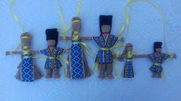 Подарок-оберег. Handmade. Кукла-мотанка Неразлучники