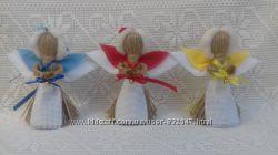 Handmade. Ангелочек оберег и подарок. Кукла-мотанка.
