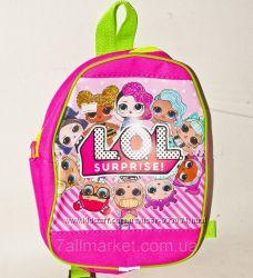 Детский рюкзак с куклами LOL