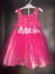 Новое нарядное платье- сарафан р. 1, 5-2 года