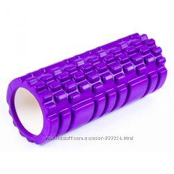 Валик ролик, роллер массажный для спины и йоги