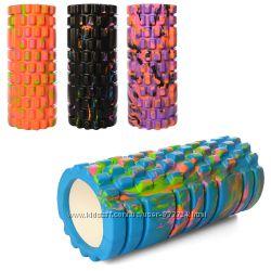 Валик ролик, роллер массажный для спины 33см х 14см 0857-1