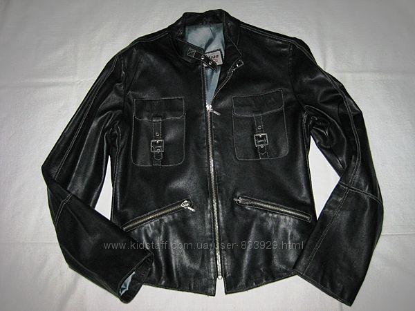 Куртка кожаная р. XS-S