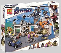 Конструктор Bela 11262 Битва на базе Мстителей. Супергерои. Super Heroes