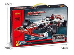 Конструктор Decool 3366 Гоночный автомобиль Гран-при аналог Technic 42000