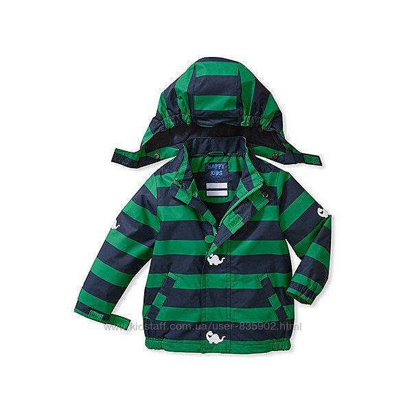Новые куртки-ветровки  на флисовой, трикотажной подкладке  86 -140