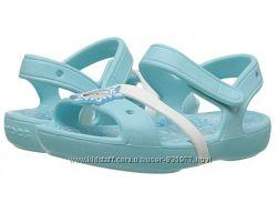 Босоножки Crocs Elsa Anna Frozen р-р с7, с12, с13, J2, J3 - Kids Girls Elsa