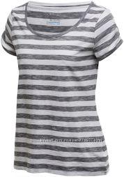 Женская футболка фирмы Коламбия Columbia размер С пойдет на М