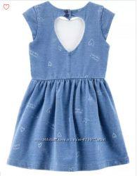 6f98ee2810b Летнее платье под джинс Картерс 4т