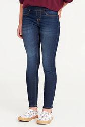 Темно-синие джинсы, джеггинсы Олд Неви, 14л, 16л. Old Navy