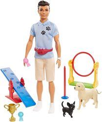 Набор Barbie Кен дрессировщик собак - Ken Dog Trainer Playset