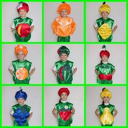Прокат карнавальных костюмов ягоды и фрукты
