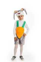 Карнавальный костюм для мальчика Зайчик с морковкой или Кролик