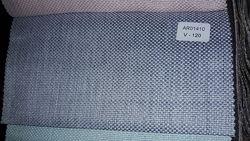 Ткань для штор рогожка меланж, пошив