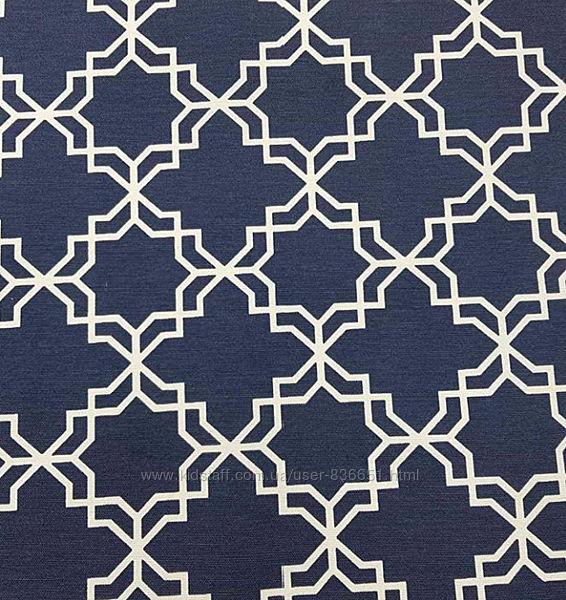 Хлопковая ткань с пропиткой для декора Геометрия, пошив