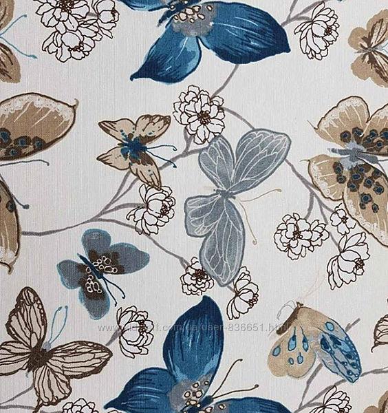 Хлопковая ткань с пропиткой для декора Бабочки, пошив