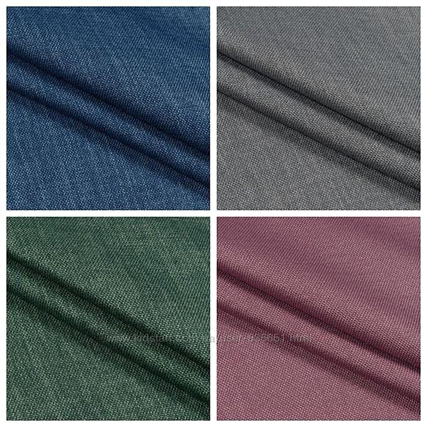 Блекаут рогожка лен, 6 цветов, дизайн и пошив