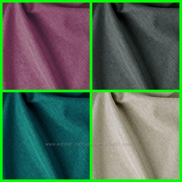 Супер плотная ткань для штор рогожка Афина, 300 см, пошив и дизайн
