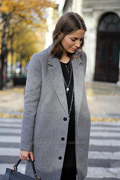 Пальто на пуговицах с карманами Orsay