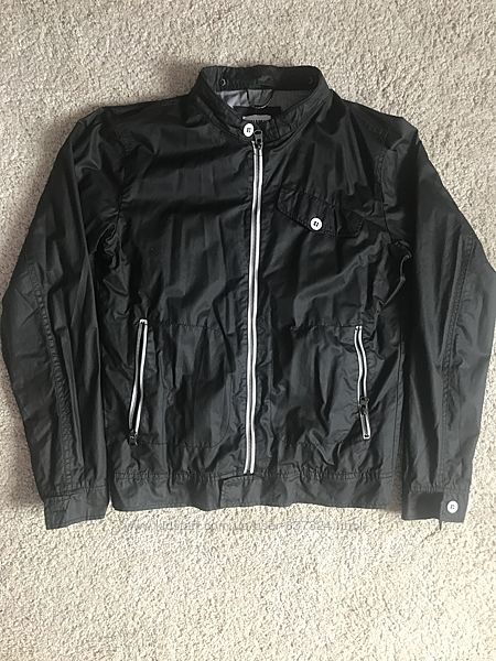 Куртка водовідштовхуюча  Pull & Bear на котоновій підкладці, М