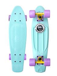 Скейтборд скейт пенни борд Penny Board Fishskateboards  Пастельные оттенки