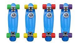 Скейтборд скейт Penny Board Пенни борд Fish пенни фиш 8 цветов