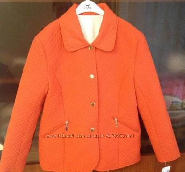 Эффектная двусторонняя стёганая куртка