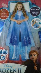 Флисовый плед-платье с блёстками Disney от 3 лет до 152см