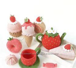 Чайный набор со сладостями