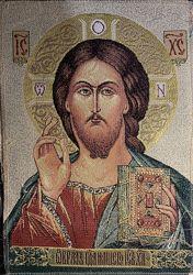 Икона Иисус гобелен