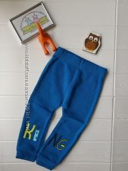 Фирменные флисовые штаны
