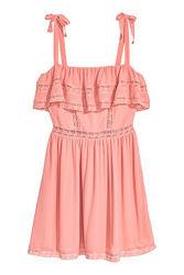 Платье сарафан с кружевной отделкой H&M, р. 44 евро - 50 наш
