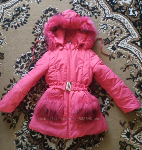 Зимняя куртка курточка 116р