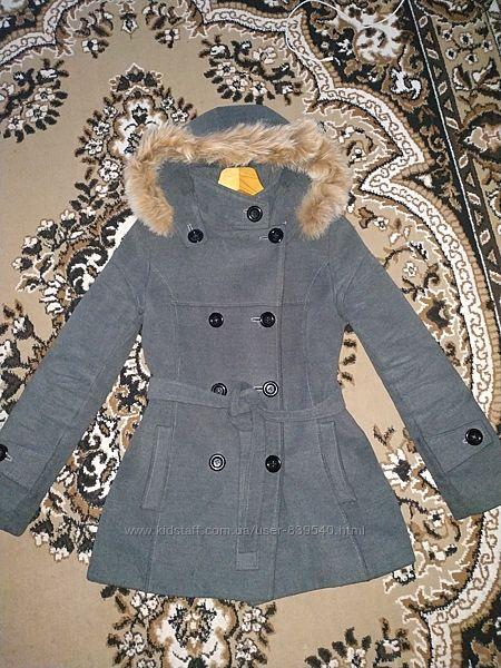 Кашемировое пальто 42р