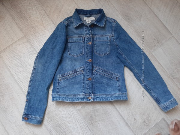 Джинсовая куртка H&M размер s-m.