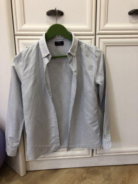 Льняная рубашка Mango 11-12 лет, 152 см